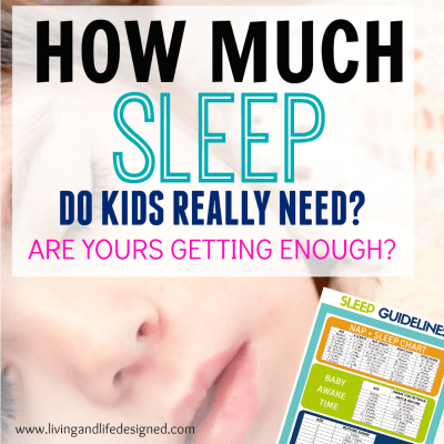 Comprehensive Sleep Charts for Infants to Adolescents