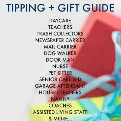 Holiday Tipping & Gift Guide For Kids, Home, Pets & Senior Care