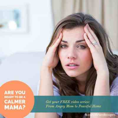 Go From Angry Mom to Calm Mom: FREE Video Series