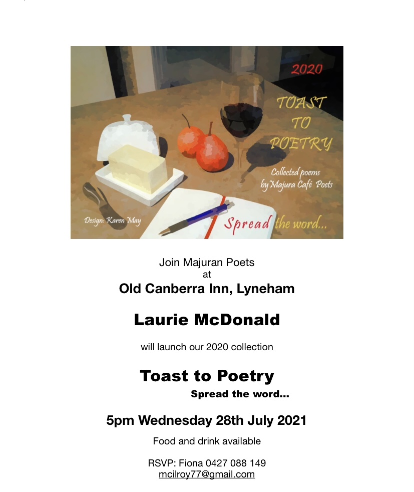 Majura Poets – Toast to Poetry Book Launch