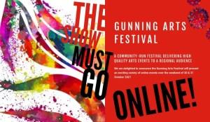 Gunning Arts Festival going online again