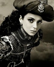 'মণিকর্ণিকা' ছবিতে লক্ষ্মীবাঈয়ের চরিত্রে অভিনয় করছেন কঙ্গনা। ছবি: ইন্সটাগ্রামের সৌজন্যে