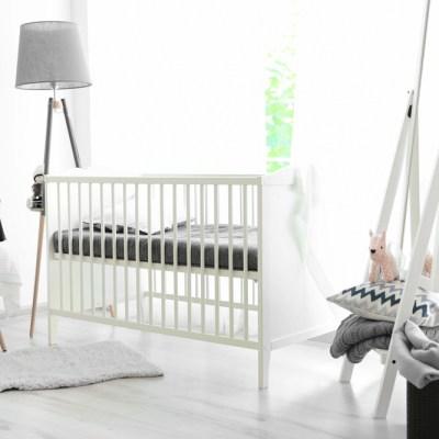 Babykamer monochroom