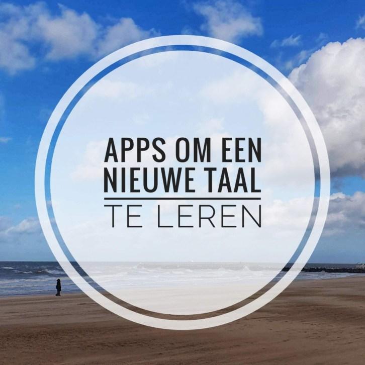 Apps om een nieuwe taal te leren