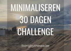 minimaliseren 30 dagen challenge