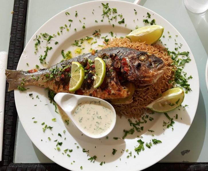 Sayyadiyeh - visgerecht uit Aqaba
