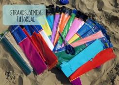 Tutorial strandbloemen - bloemetjes van papier