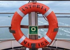 Reddingsboei M/S Astoria cruise