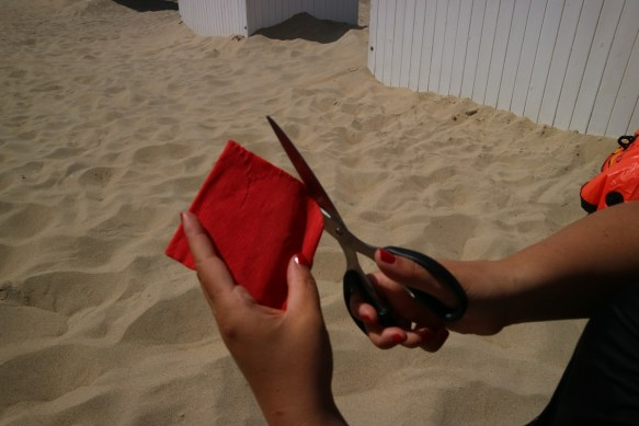 Strandbloemen maken - tutorial