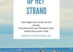Zero waste op het strand