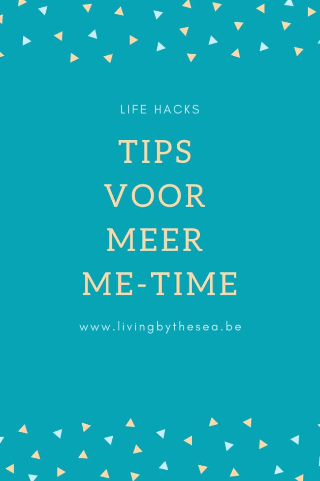 Tips voor meer me-time