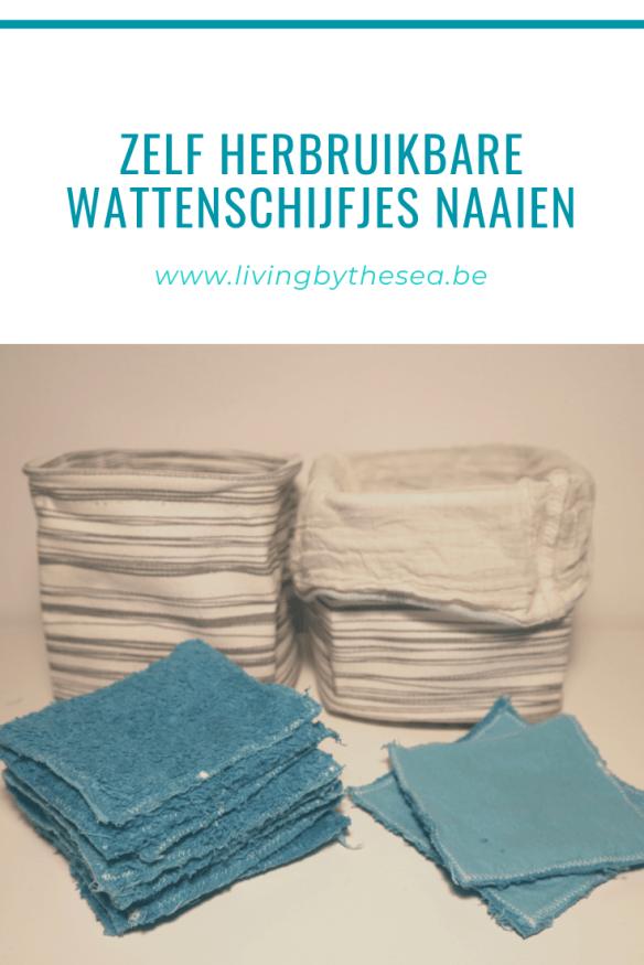 Zelf herbruikbare wattenschijfjes naaien