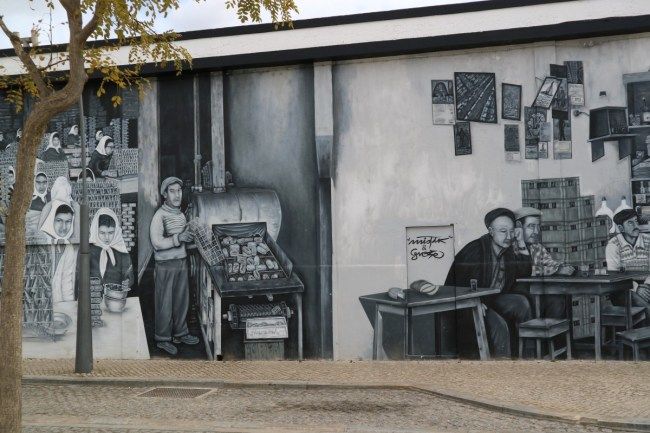 Streetart in Olhao