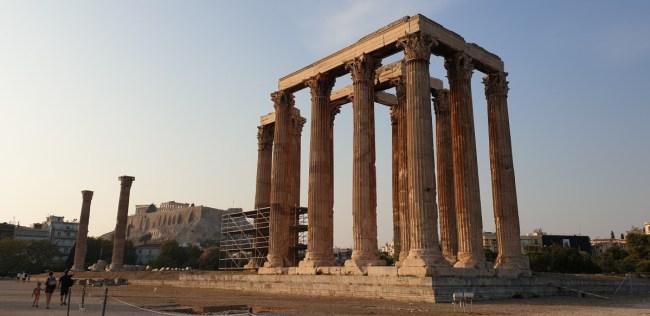 Citytrip Athene - Tempel van Olympische Zeus