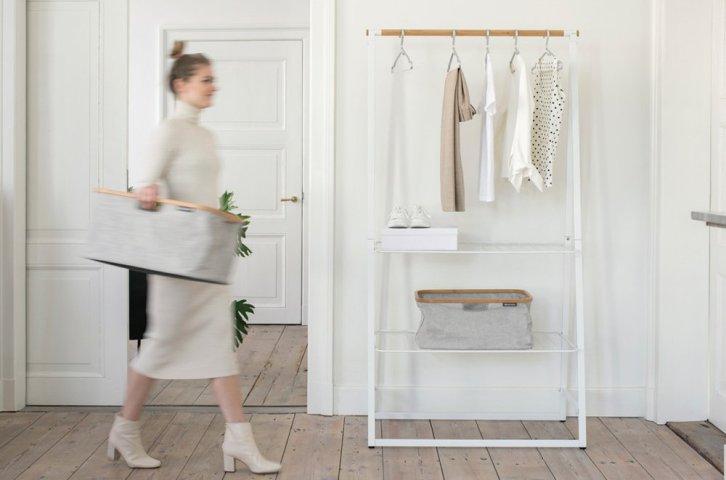 Kledingrek Linn - duurzame garderobe - i.s.m. Brabantia