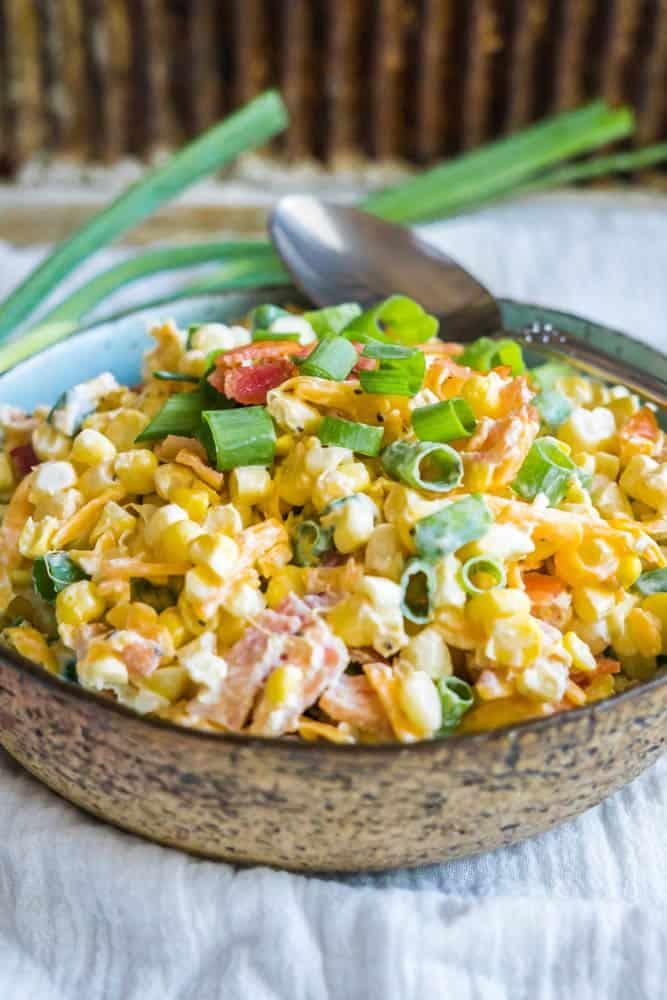 Loaded Sweet Corn Salad