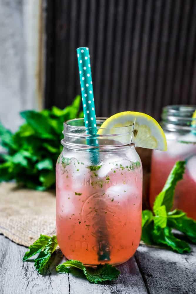 Pink Lemon Water