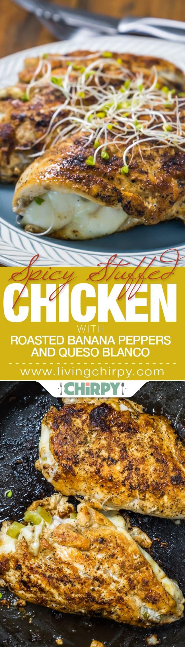 Spicy Stuffed Chicken