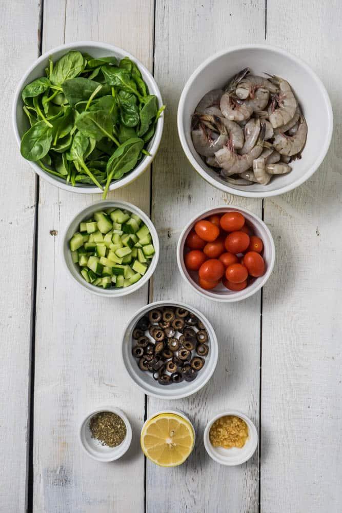 Greek Shrimp Salad