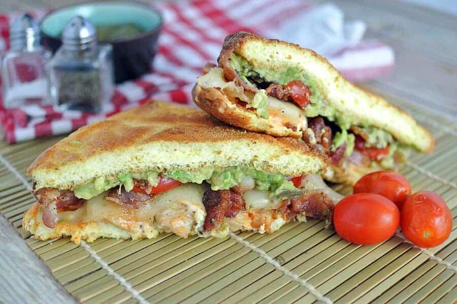 Bacon Avocado Chicken Sandwich