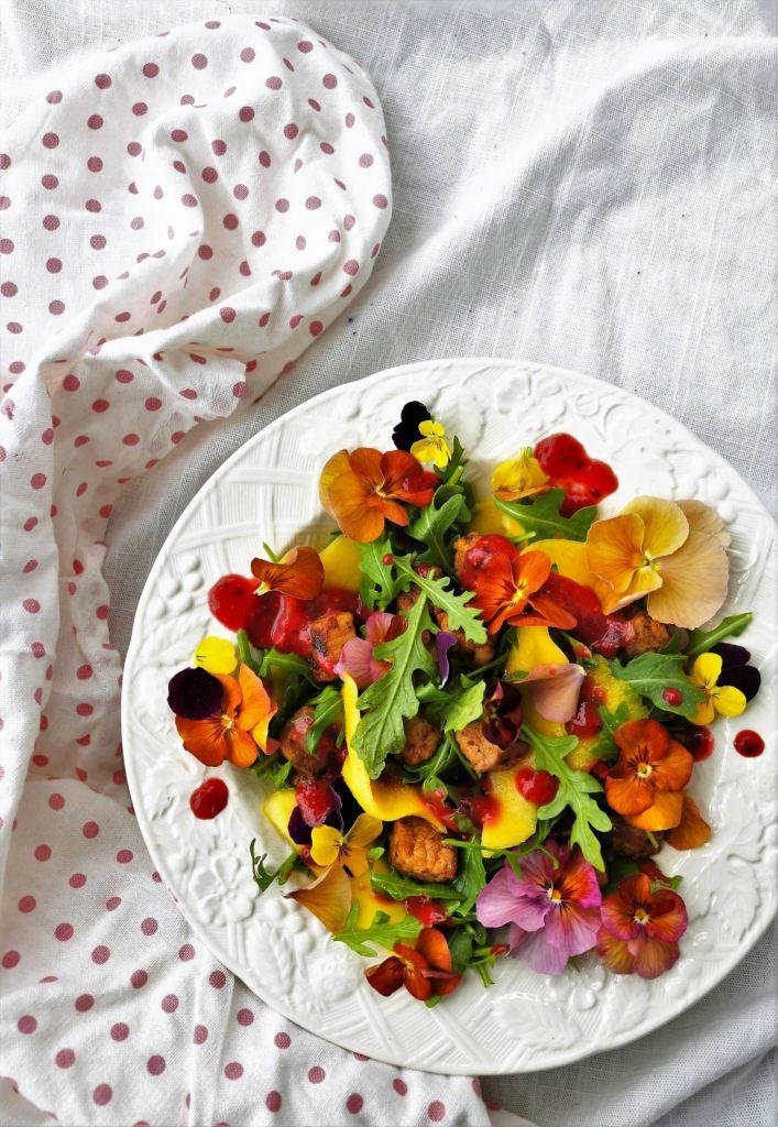 Mango Pork Salad
