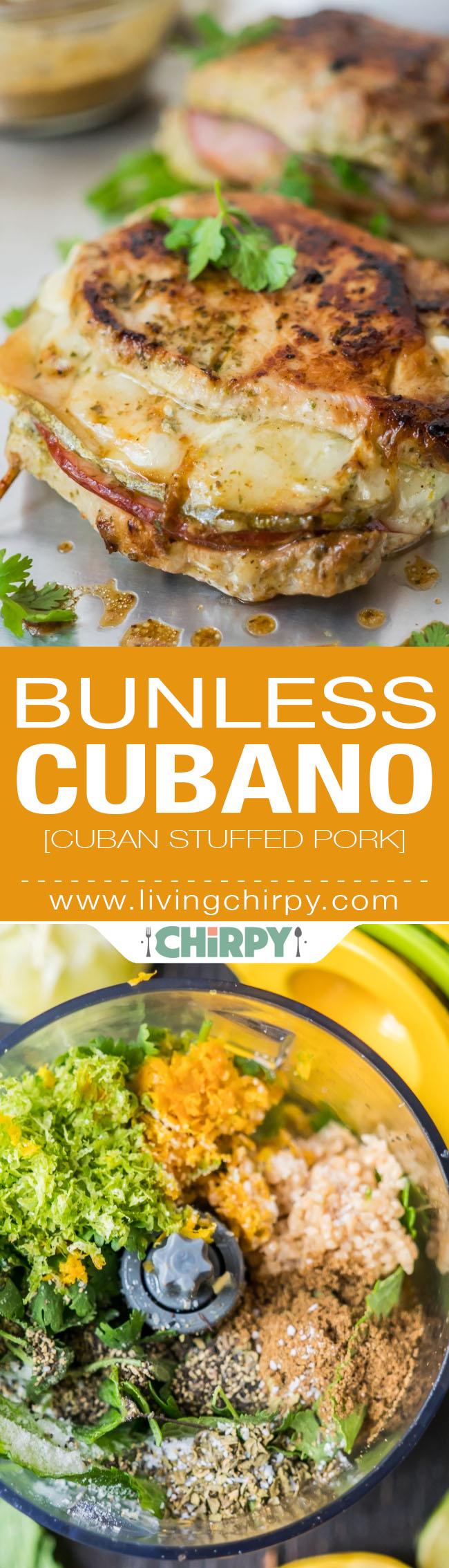 Bunless Cubano