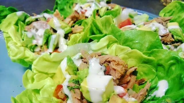 Pulled Pork Lettuce Tacos