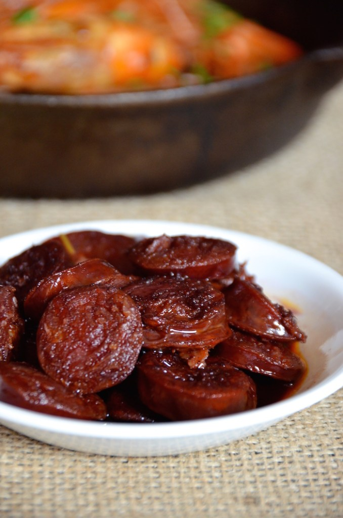 Chorizo In Red Wine