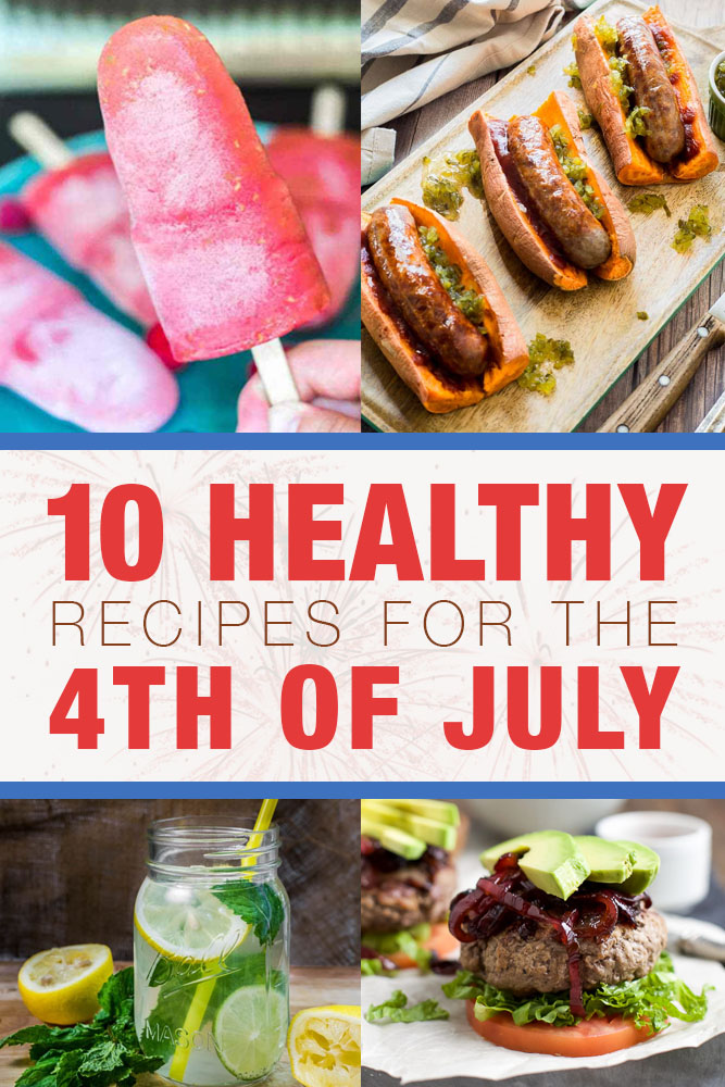 10 healthy recipes for the 4th of july