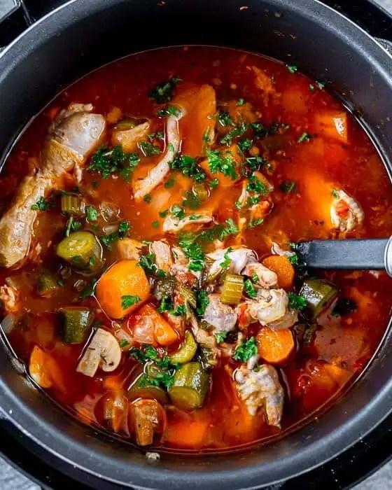 One Pot Keto Chicken Stew