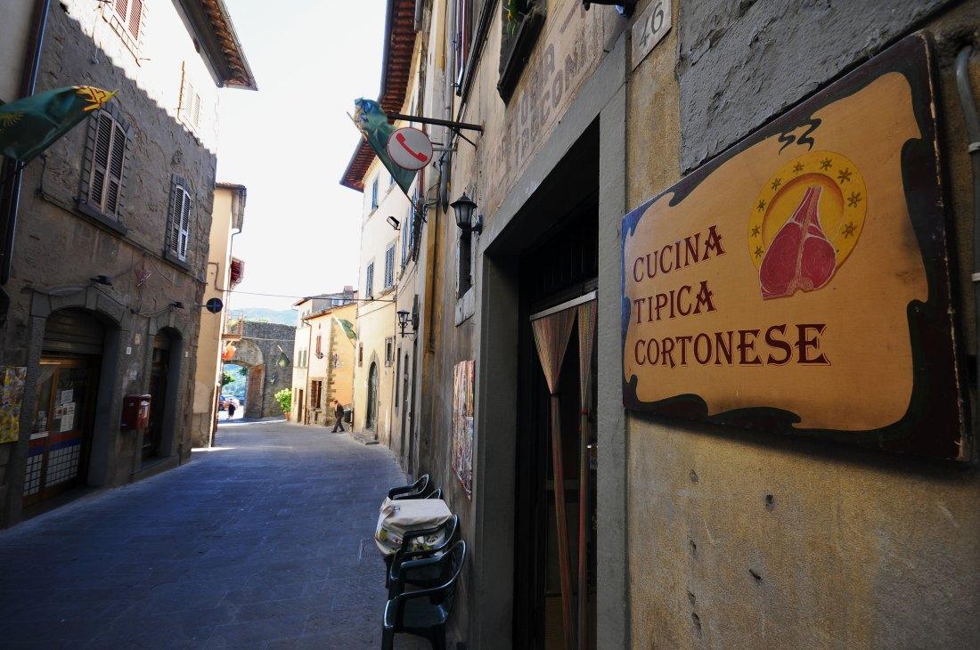 Cortona Italy trattoria