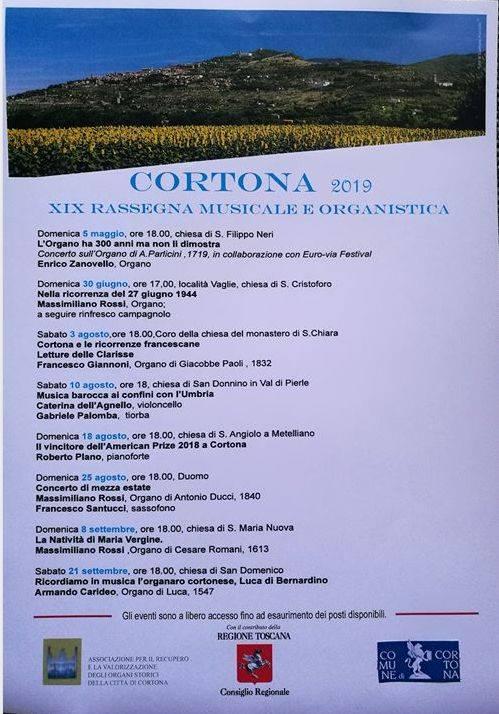 organ concerts cortona