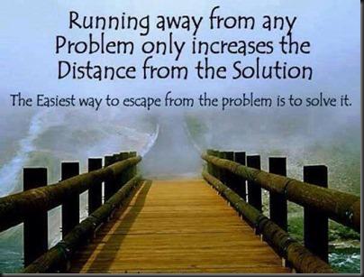 Running away distance