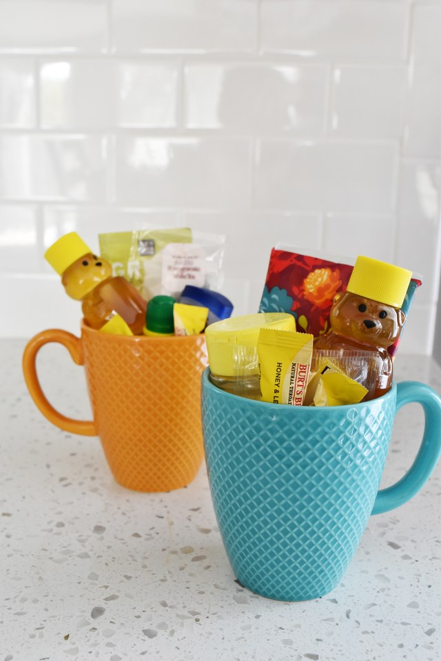 DIY get well gift cold flu season