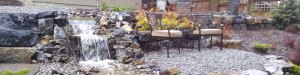 Pond Construction and Waterfall Construction in Calgary Alberta