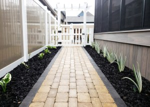 Living Earth Landscapes - Front Yard Landscaping Ideas - Pathway