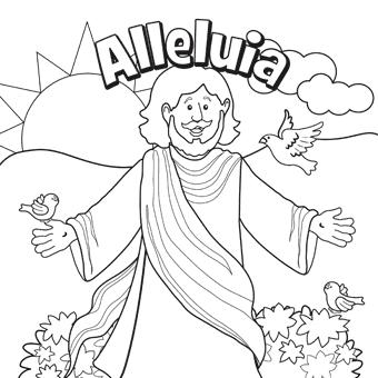 """Pastor Maryanne preaches her children's sermon: """"Alleluia"""