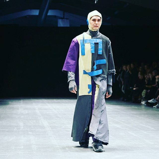 viadesignshow fashion student pavelvlodarski  his collection is meant tohellip