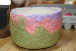 wet felting hat instructions