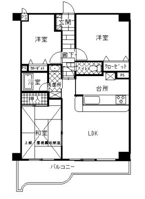 3LDK+ロフト(間取)