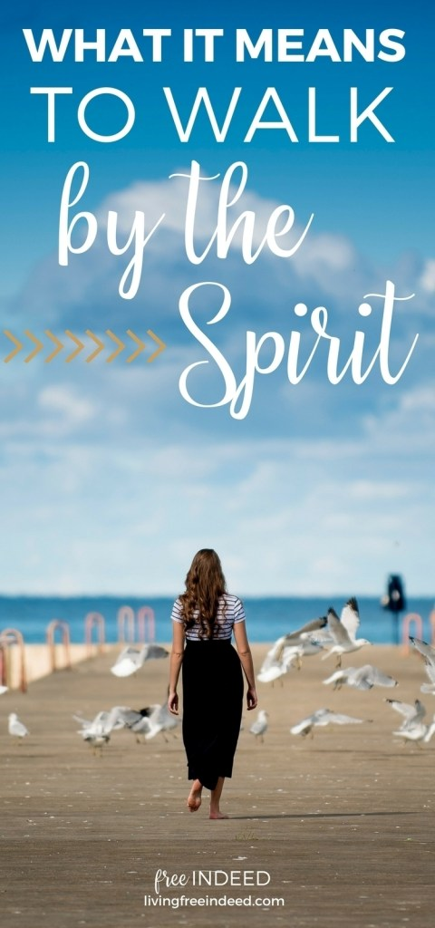 What it Means to Walk by the Spirit - Free Indeed