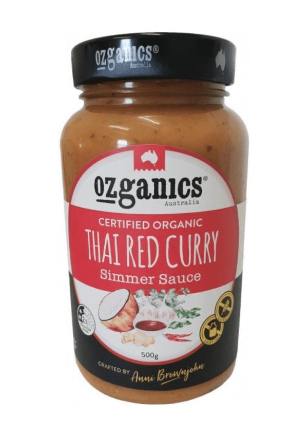 Ozganics Organic Thai Red Curry Sauce