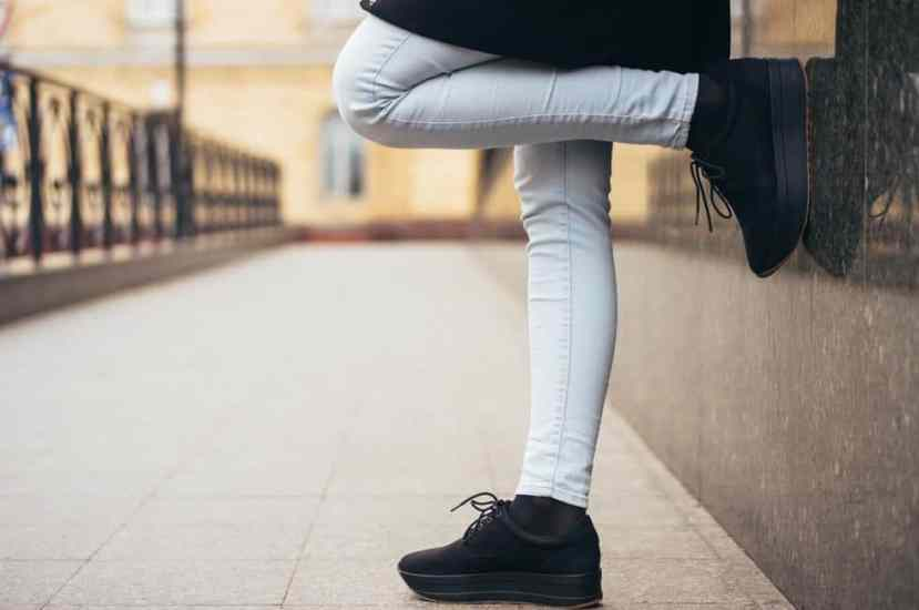 how to shrink jeans legs