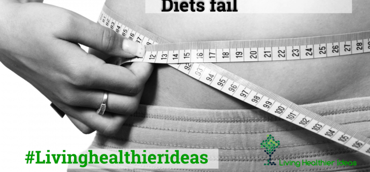 4 Reasons Why Most Diets Fail