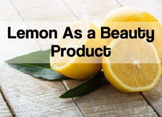 beauty benefits of lemon