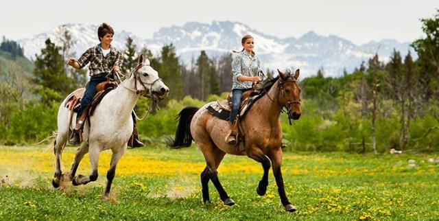 Go Horseback Riding in this spring