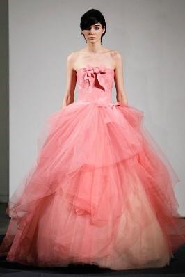 Pink Tiered Dress