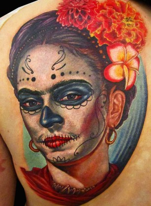 Day of the Dead Tattoos 18