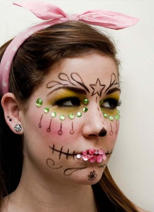 Day of the Dead Makeup Ideas 29