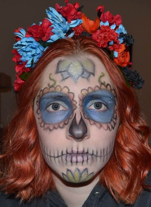 Day of the Dead Makeup Ideas 34